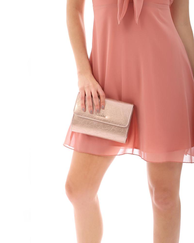 Pink envelope bag