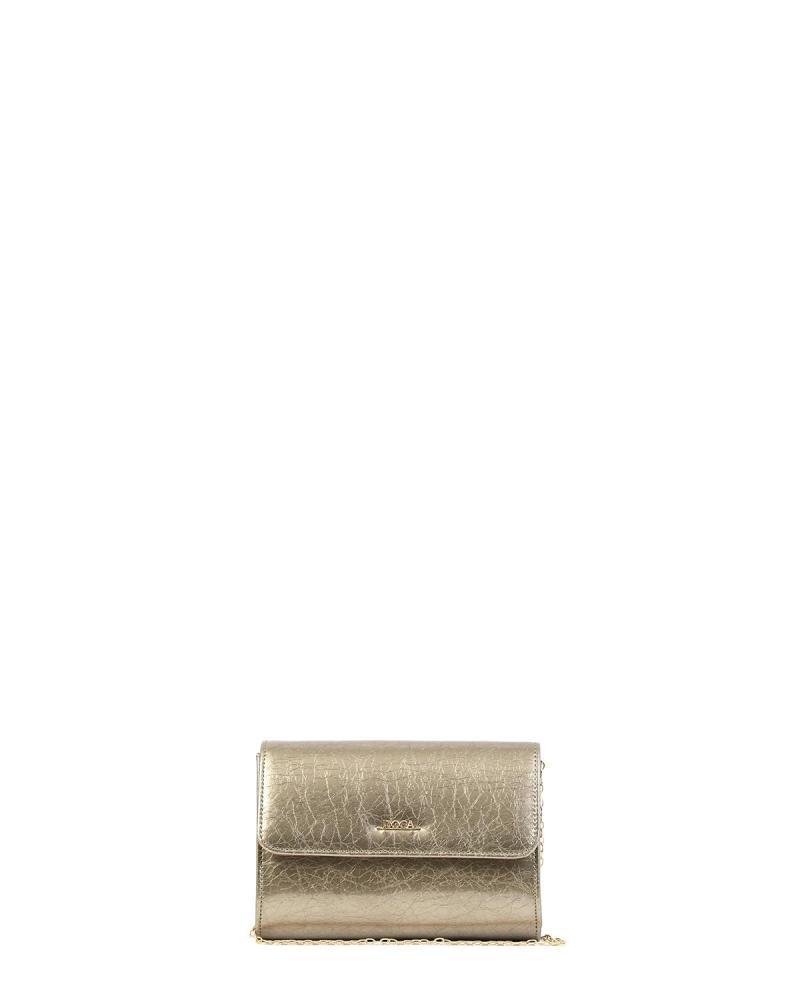 Τσάντα φάκελος χρυσή