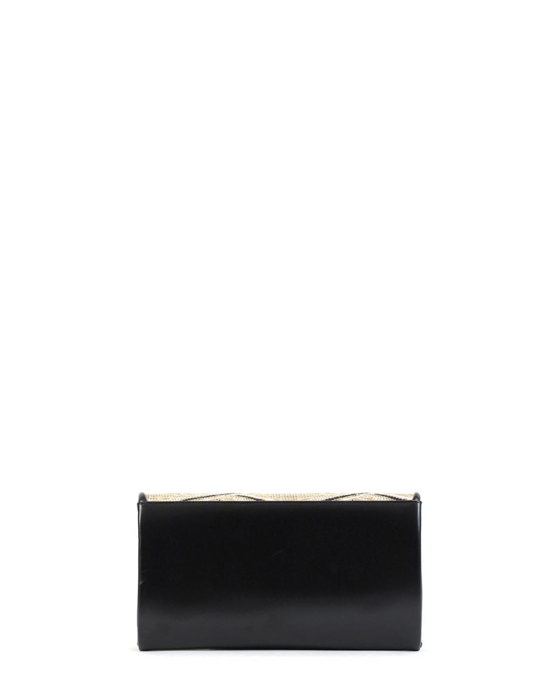 Schwarze umschlagtasche