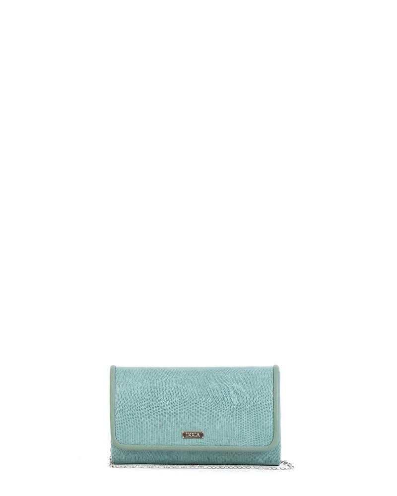 Mint green envelope bag