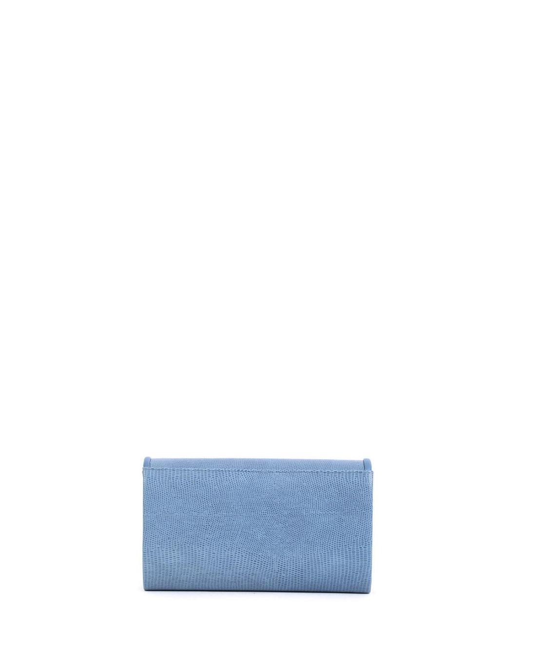 Blue envelope bag