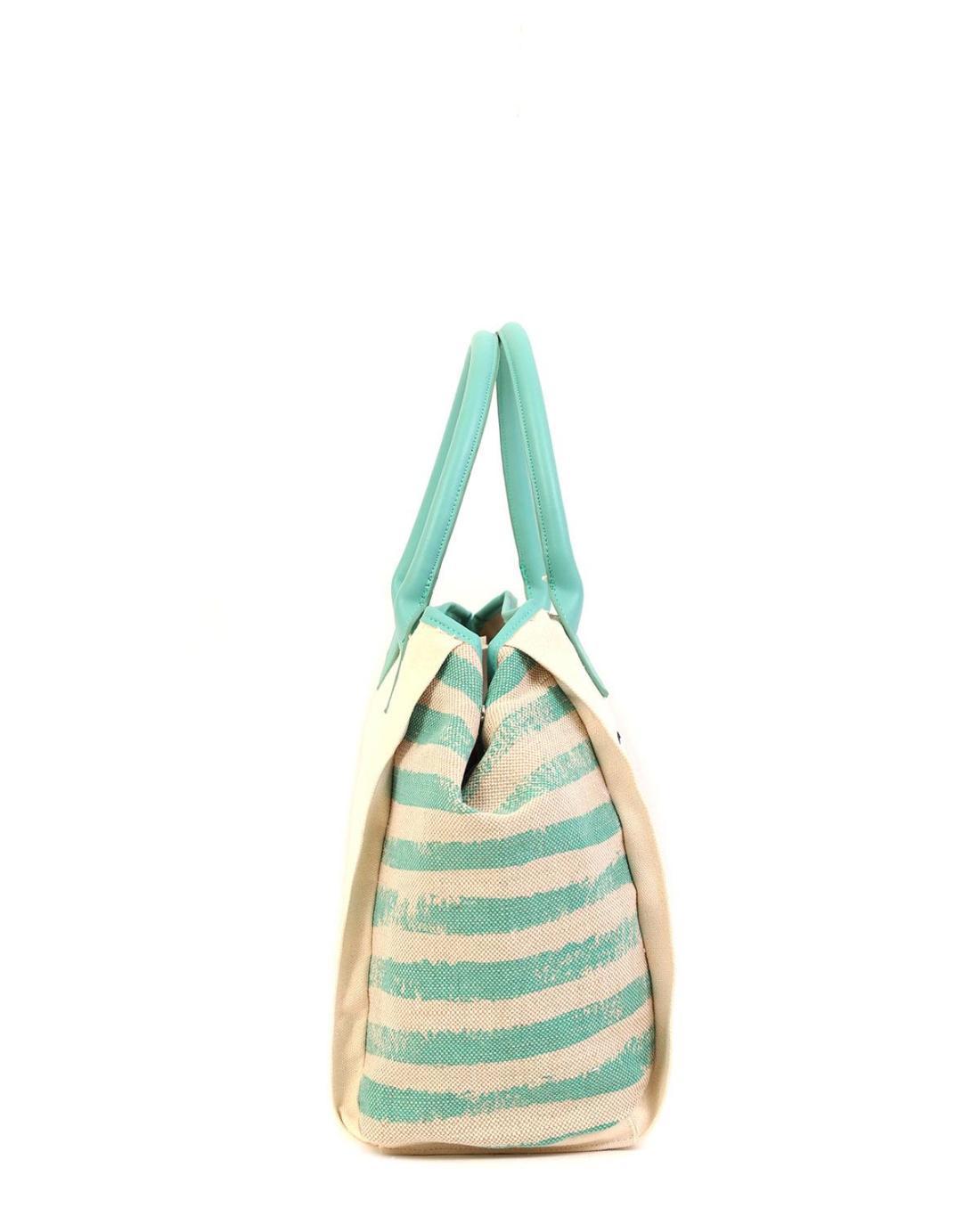 Τσάντα θαλάσσης πράσινο της μέντας