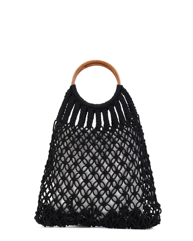 Τσάντα θαλάσσης μαύρη