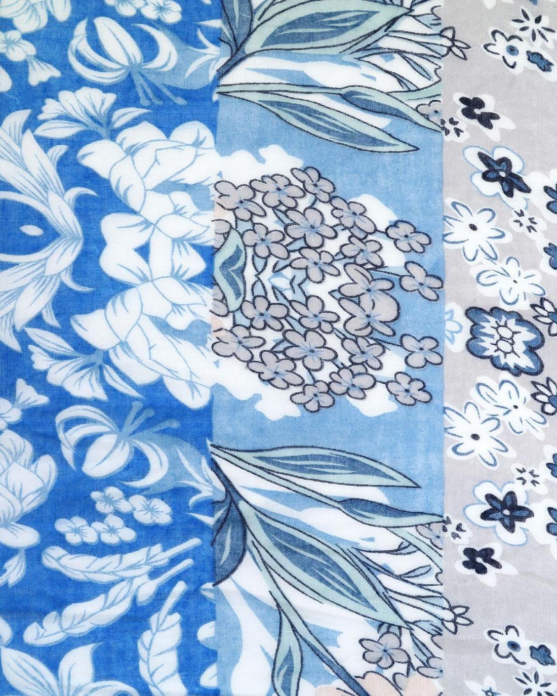 Παρεό-Φουλάρι μπλε