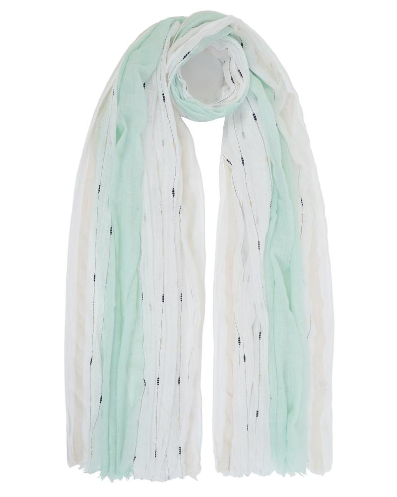 Mint green pareo-foulard