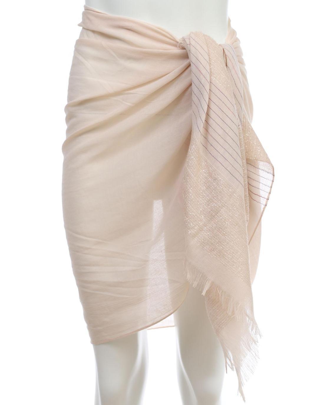 Rosa pareo-foulard
