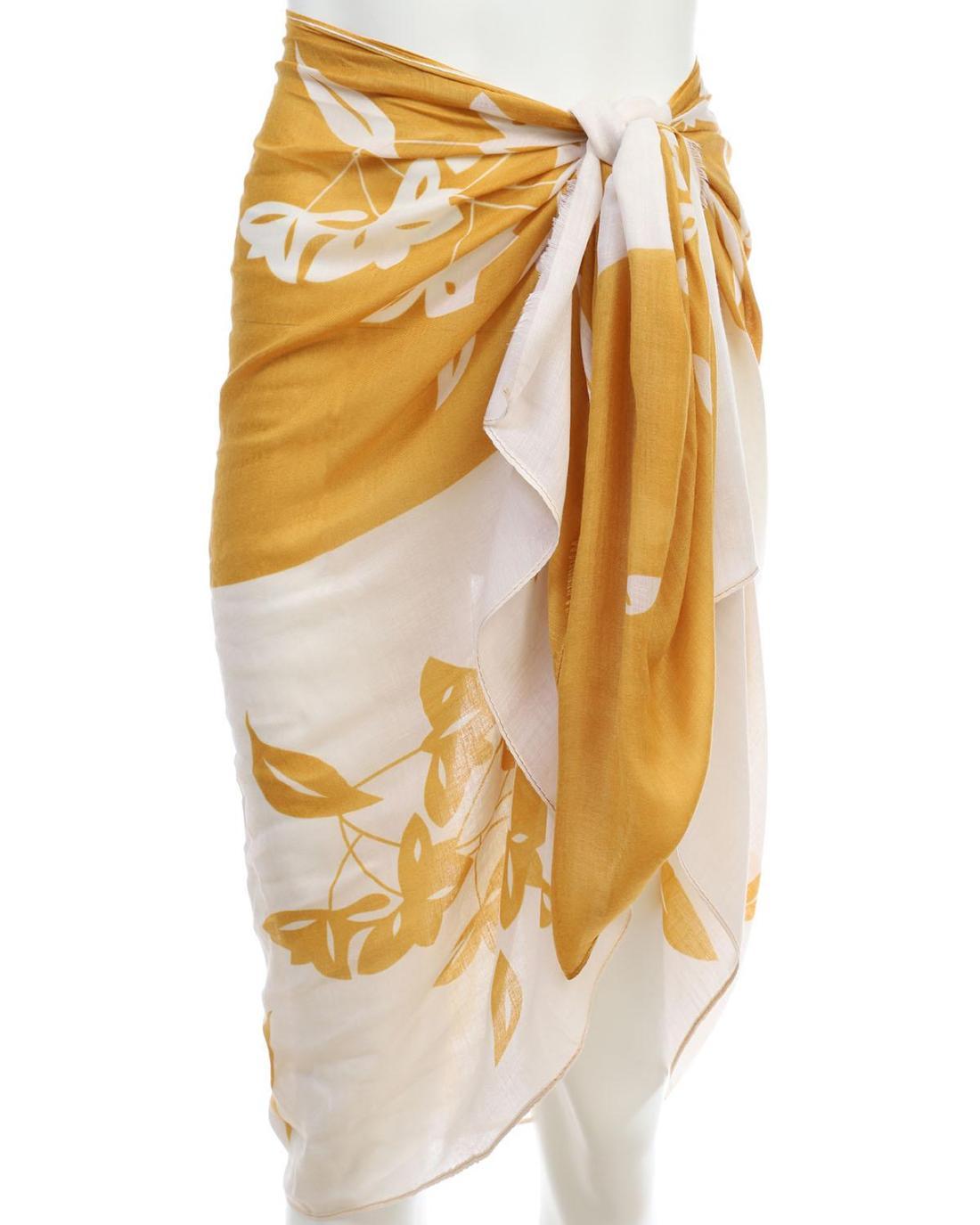 Παρέο-Φουλάρι κίτρινο