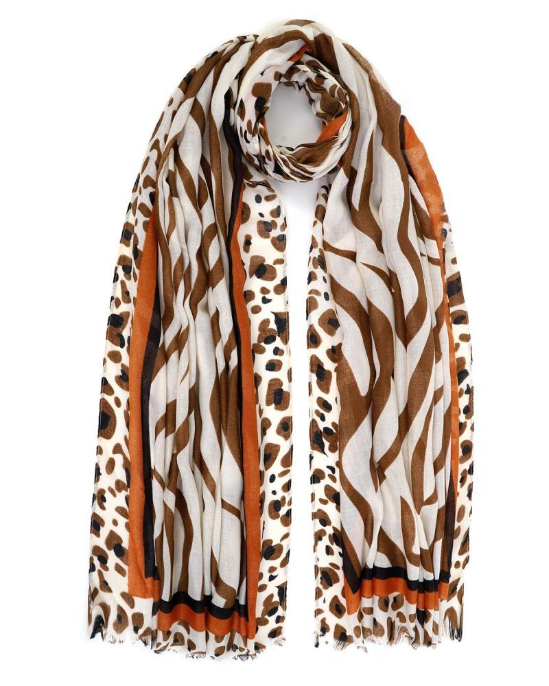 Tierdruck pareo-foulard