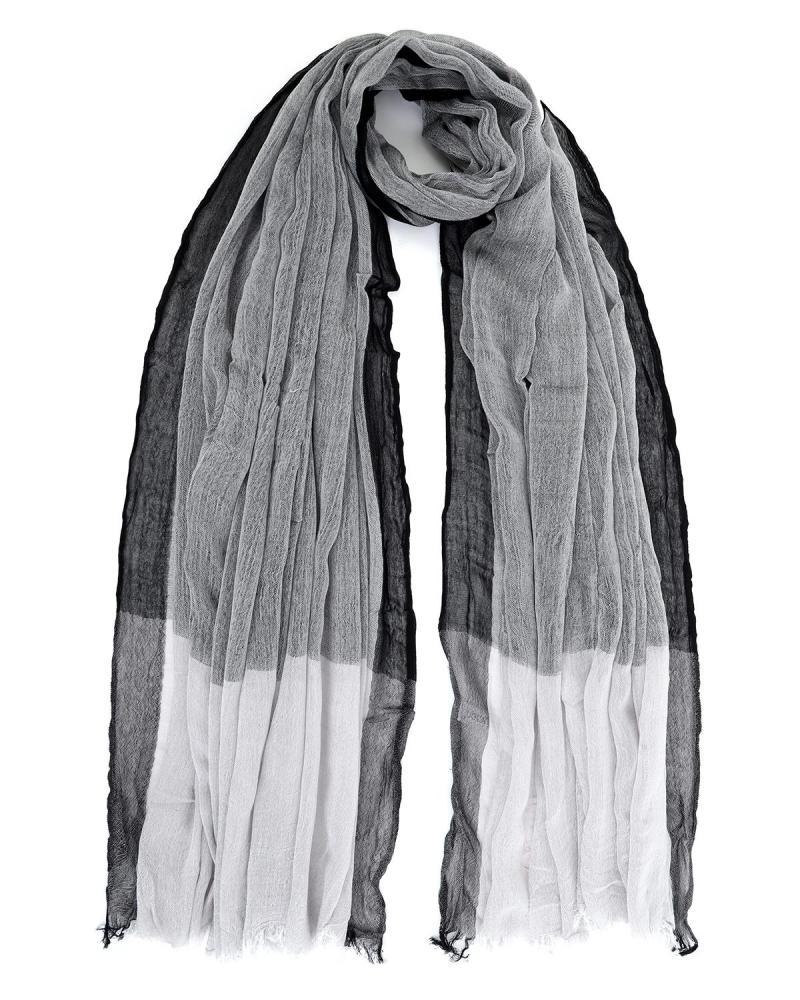 Παρεό-Φουλάρι γκρι