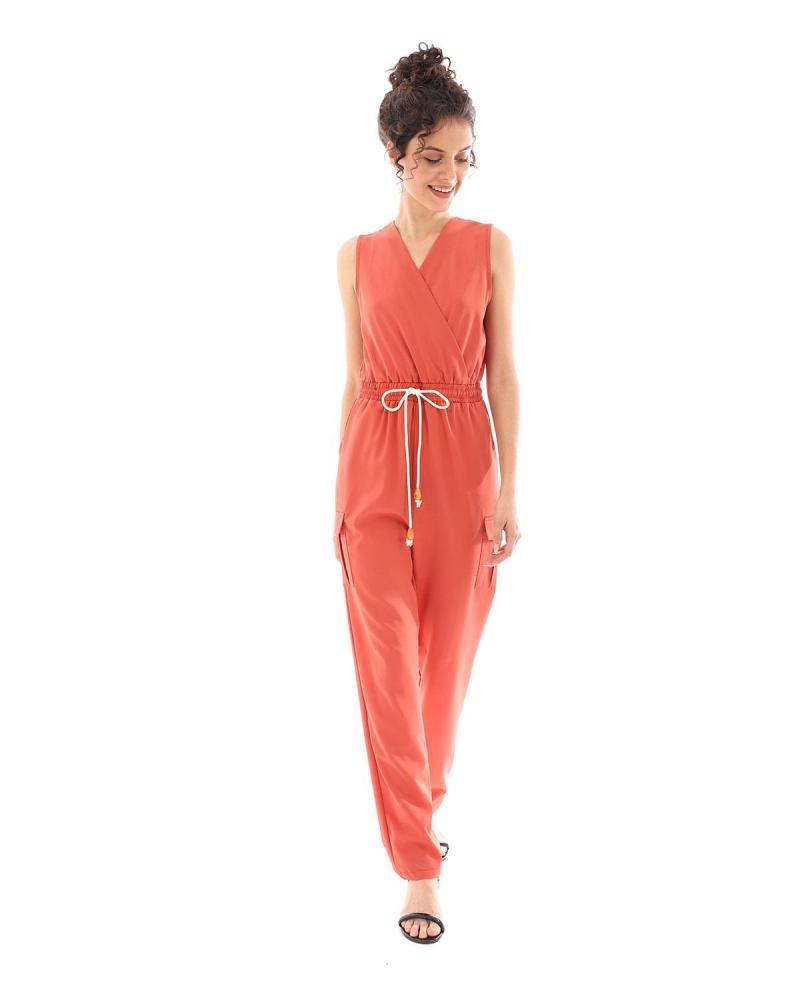 Ολόσωμη φόρμα κόκκινη