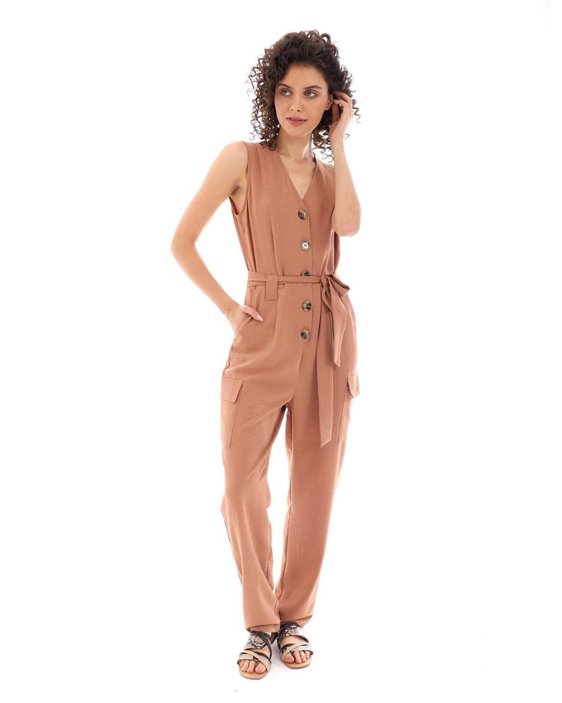 Braune overall