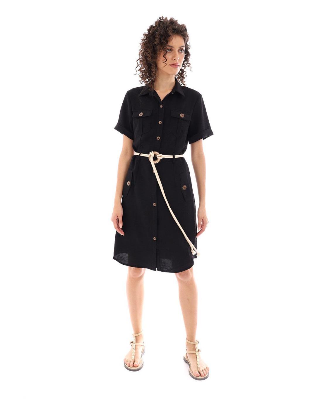 damen kleider | frühling - sommer 2020 > schwarz kleid