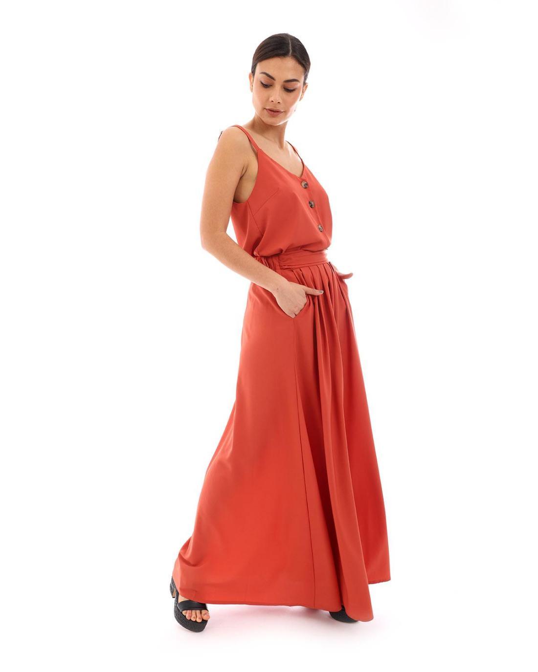 Φούστα κόκκινη
