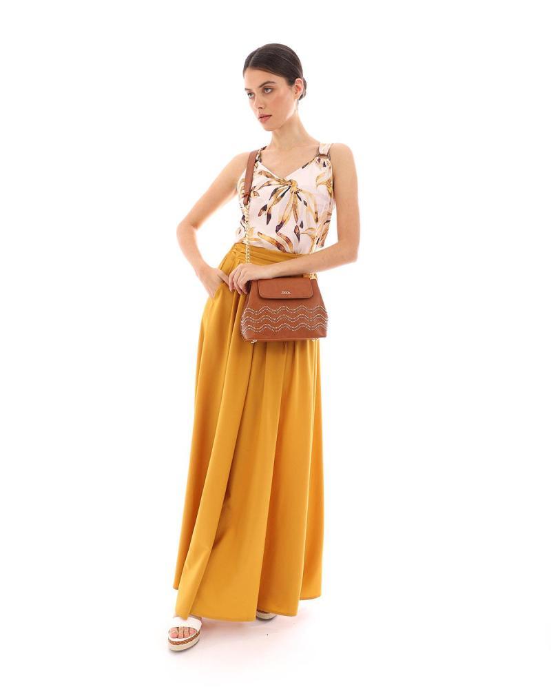 Φούστα κίτρινη