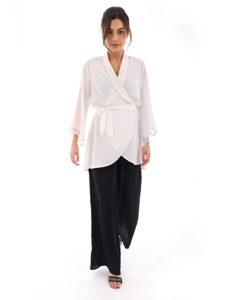Weiß kimono