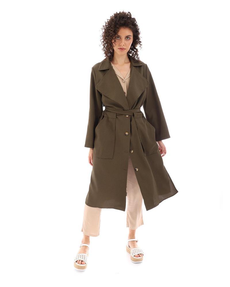 Khaki mantel