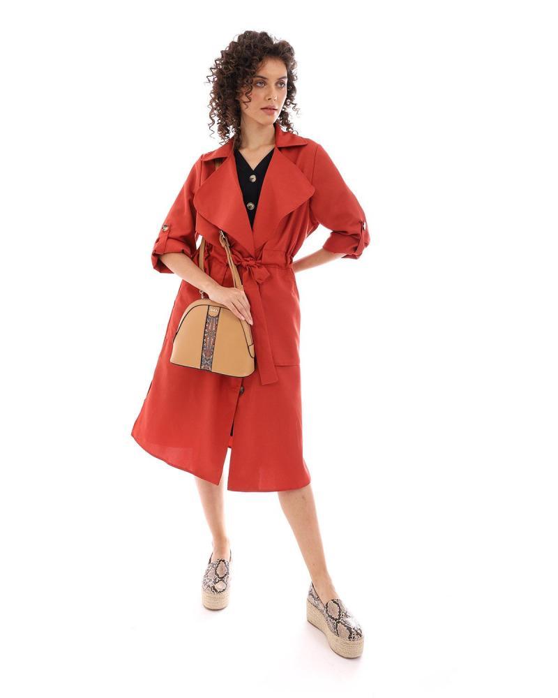 Rot mantel