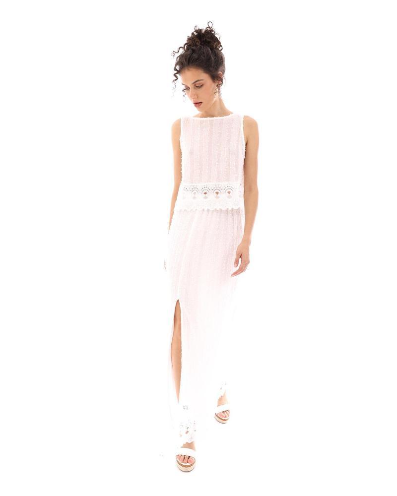Φούστα άσπρη