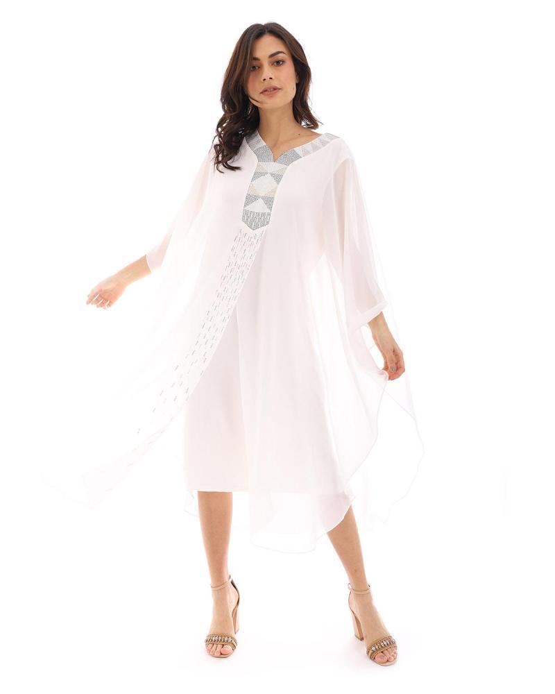 Weiß kleid