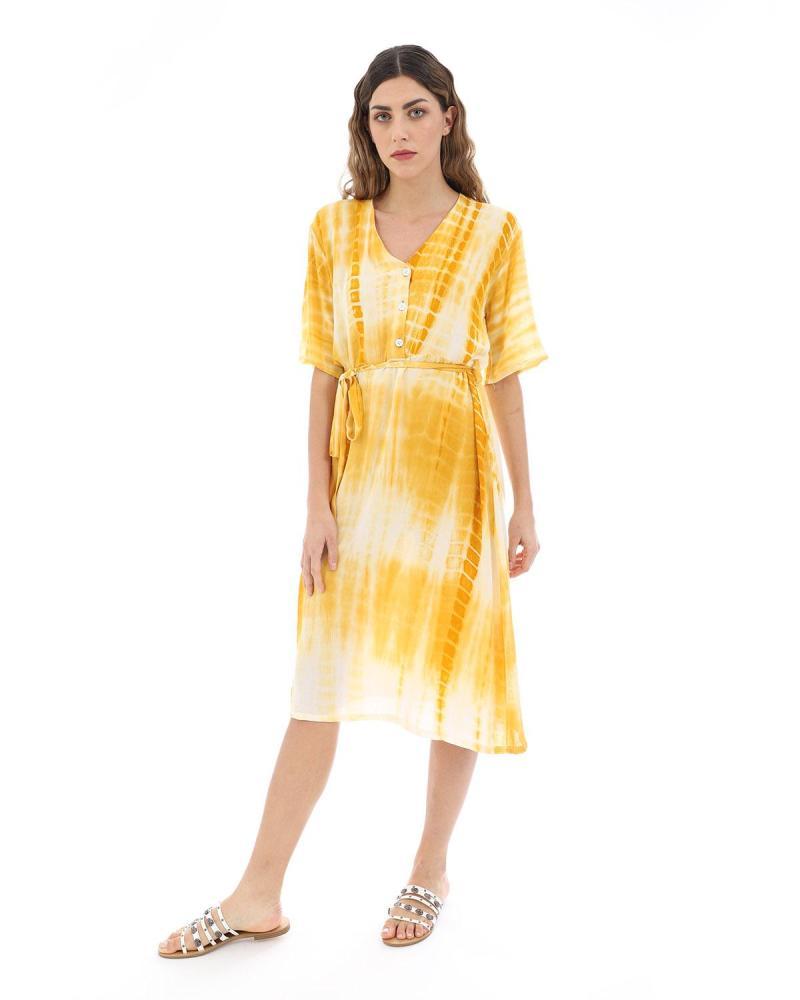 Yellow caftan