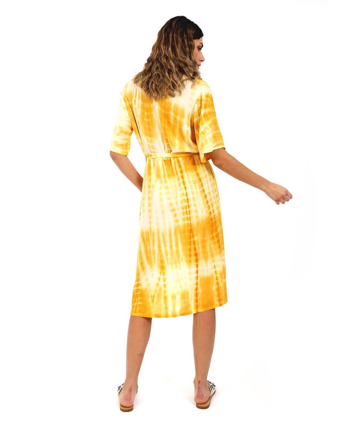 Καφτάνι κίτρινο
