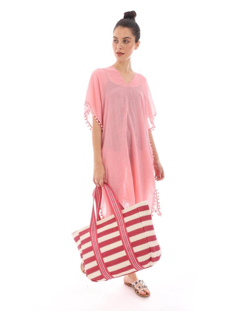 Pink caftan