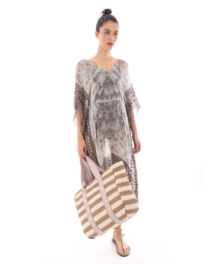 Brown caftan