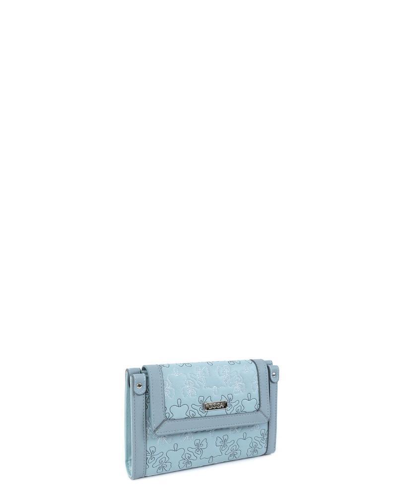 Light blue wallet