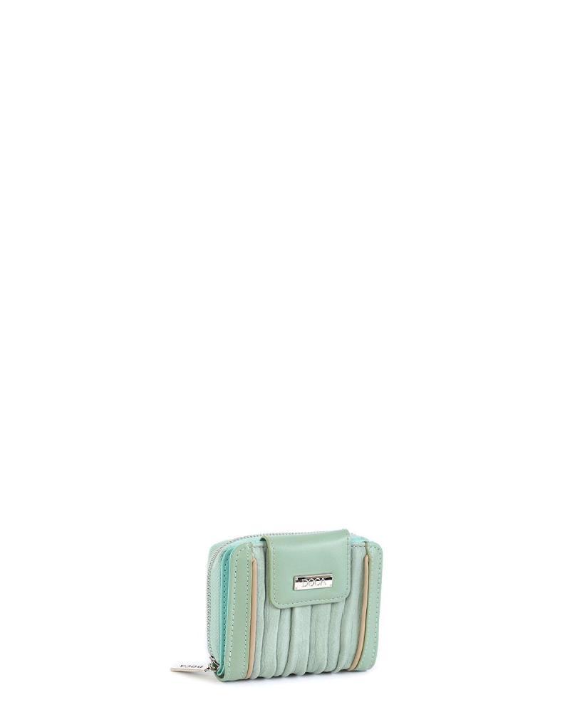 Mint green wallet