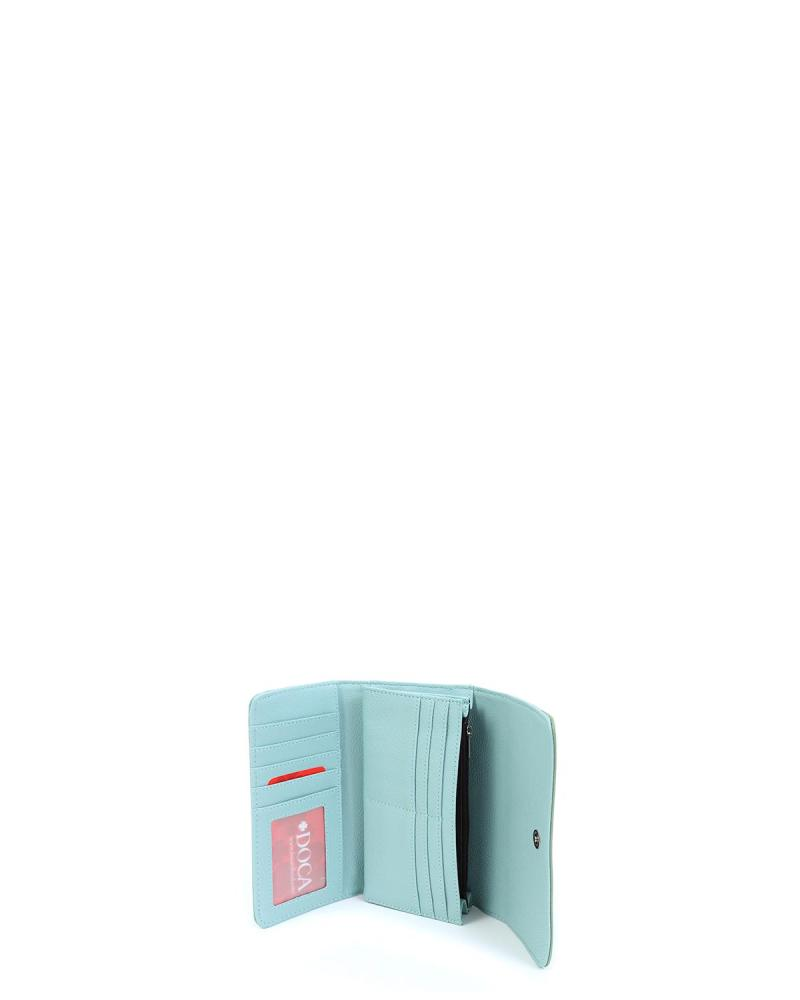 Mint green wallet