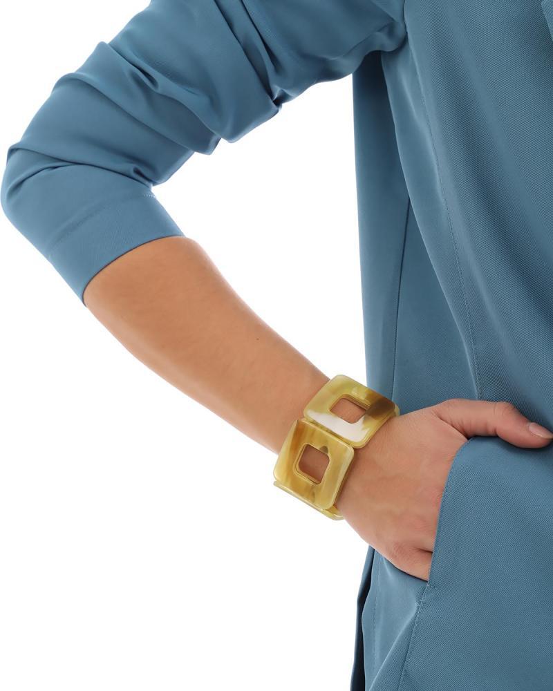 Yellow bracelet