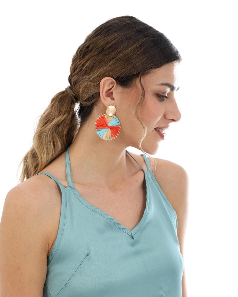 Σκουλαρίκια πολύχρωμα