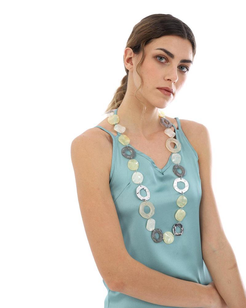 Beige necklace