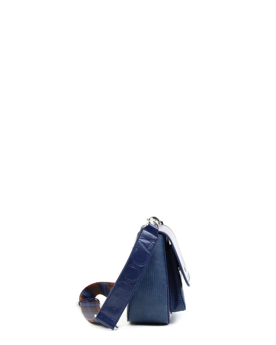 Τσάντα χιαστί μπλε
