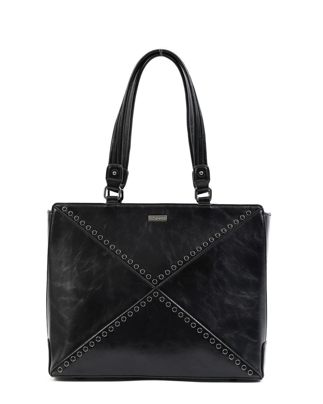 Καθημερινή τσάντα χειρός/ώμου μαύρη
