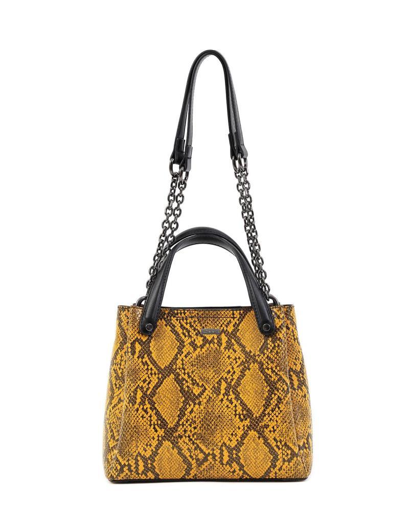 Gelbe handtasche