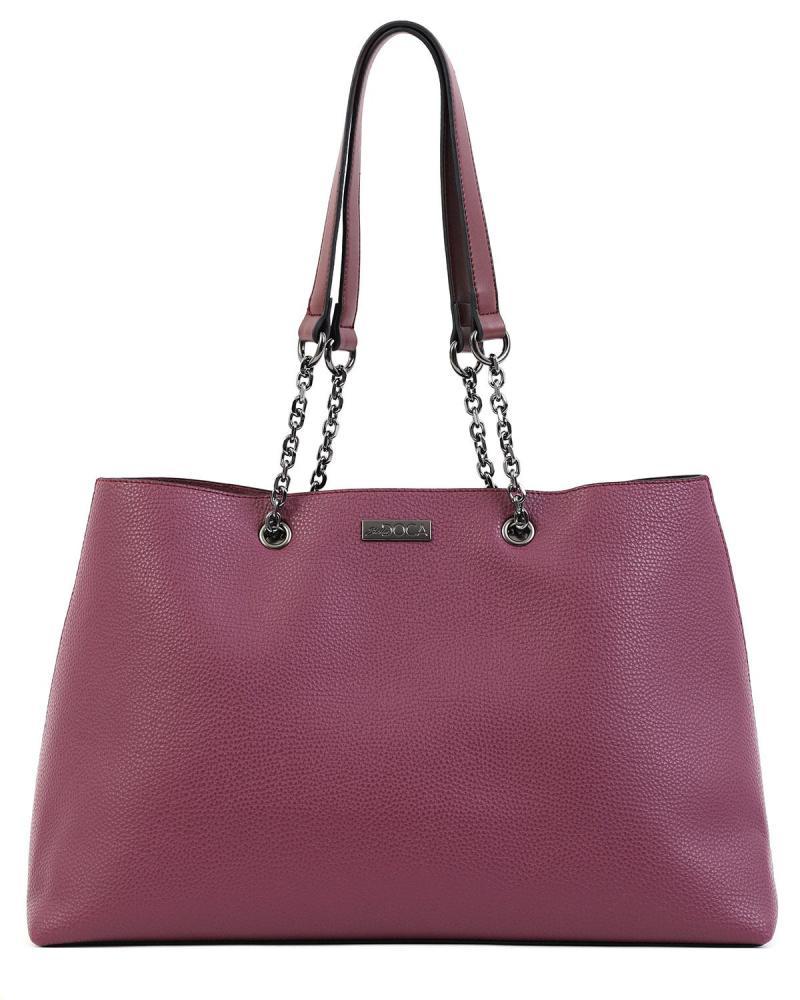 Lila handtasche