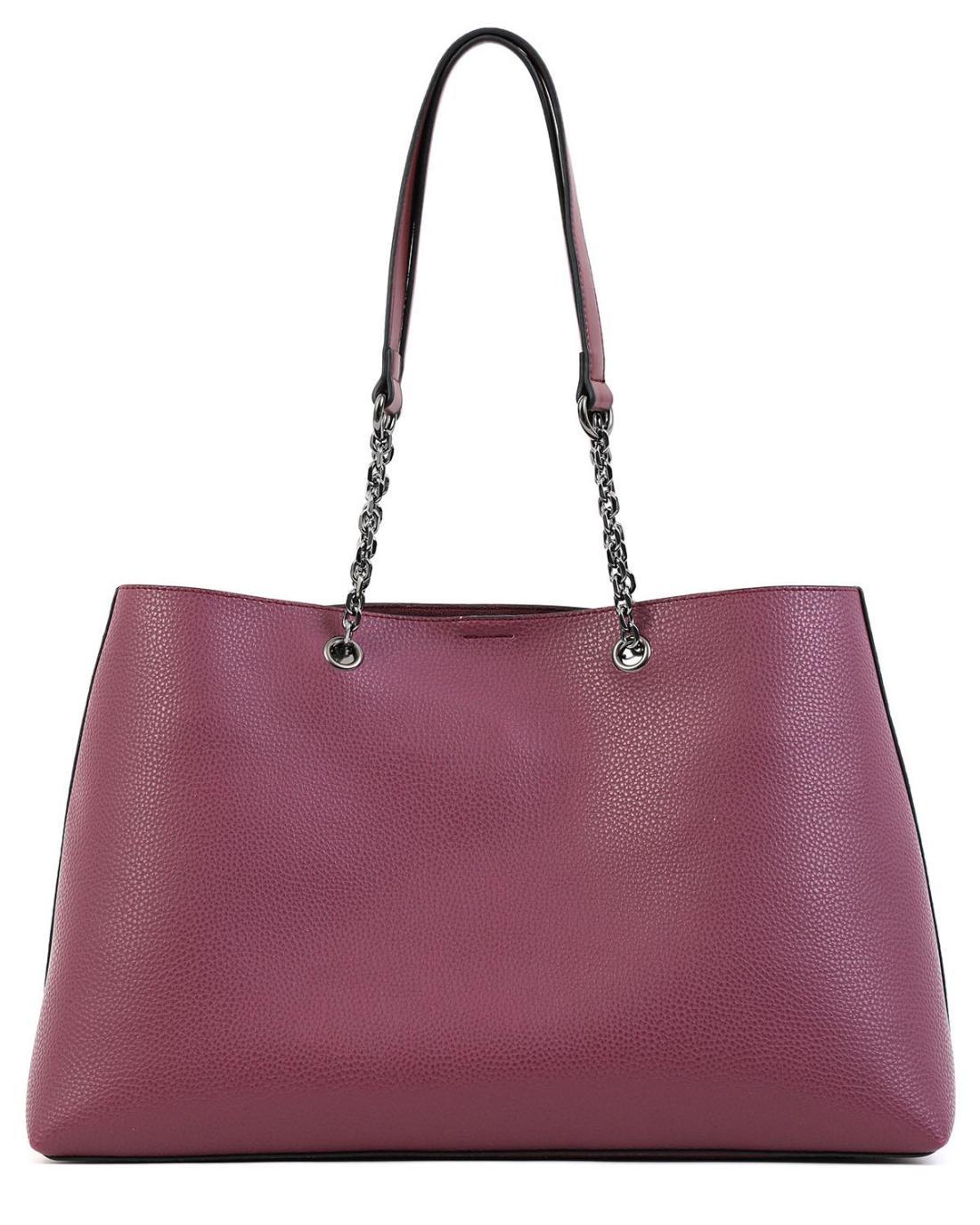 Καθημερινή τσάντα χειρός/ώμου μωβ