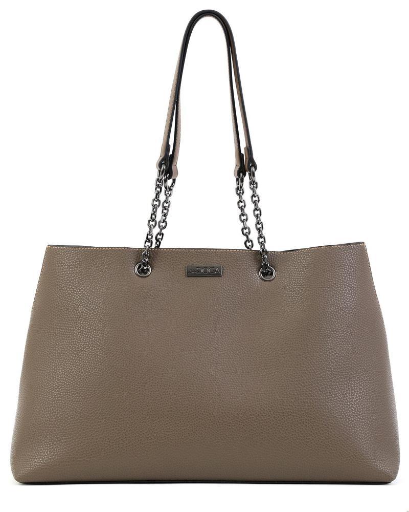 Καθημερινή τσάντα χειρός/ώμου χακί