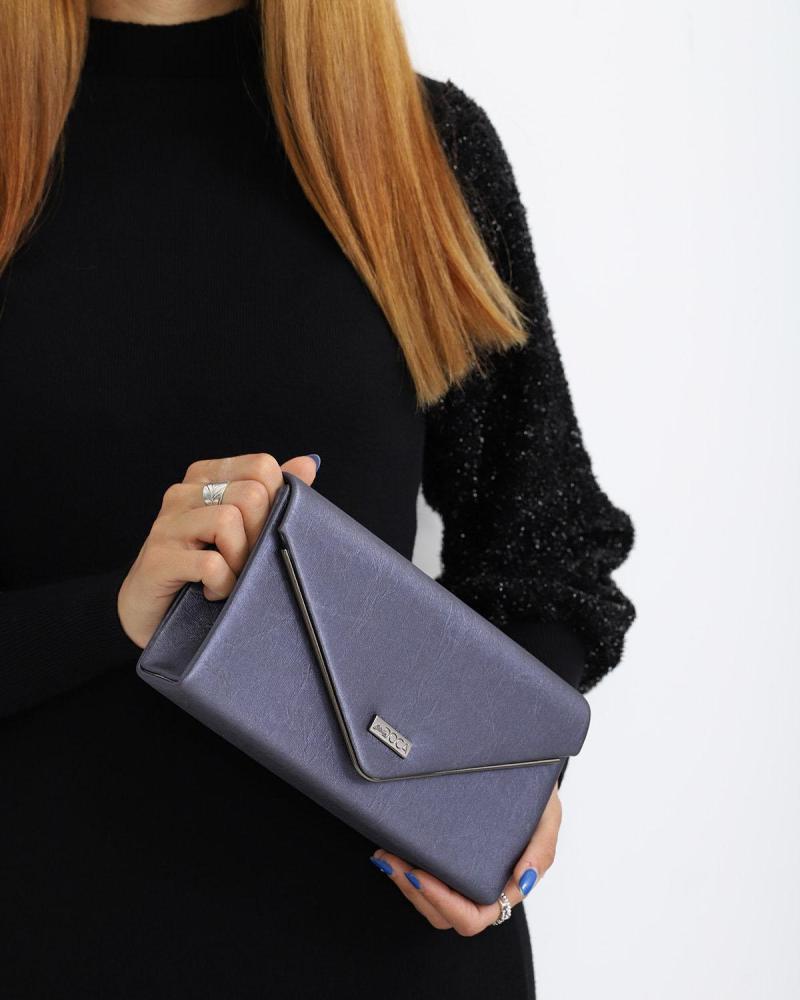 Blau Umschlagtasche