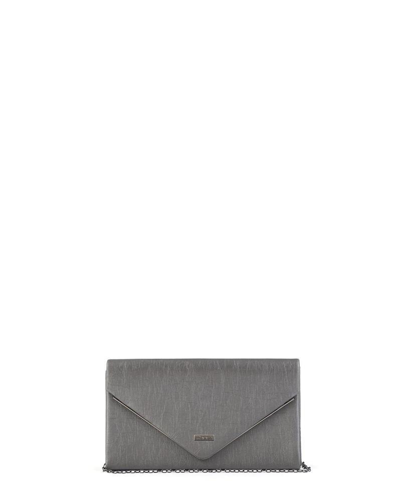 Grau Umschlagtasche