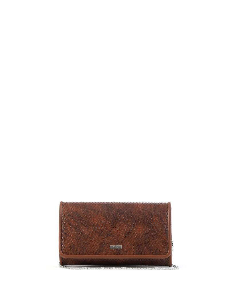 Braun Umschlagtasche