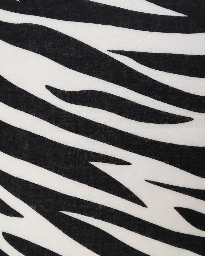 Πασμίνα μαύρη/άσπρη