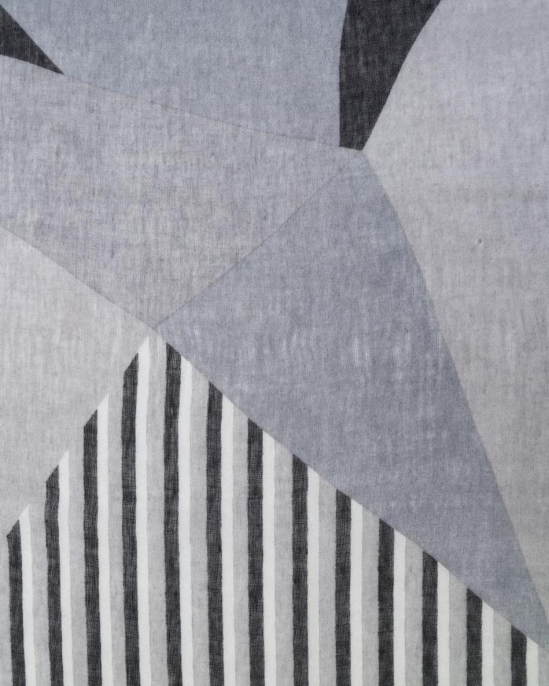 Grey pashmina