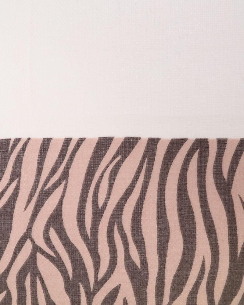 Pink animal print pashmina