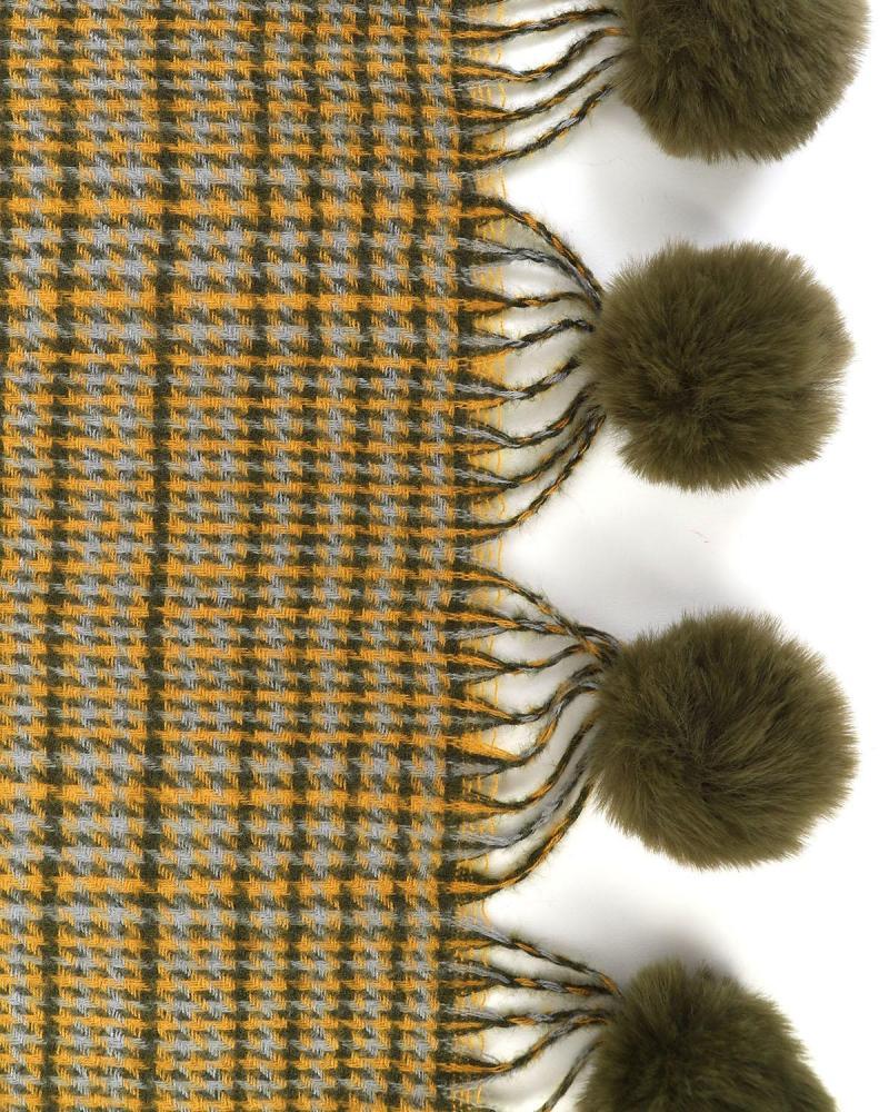 Khaki scarf