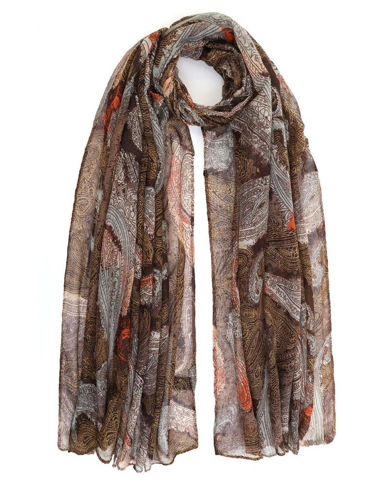 Khaki foulard