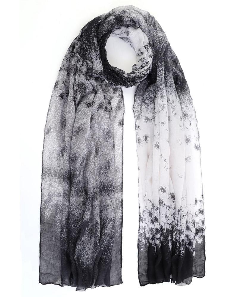Schwarz foulard
