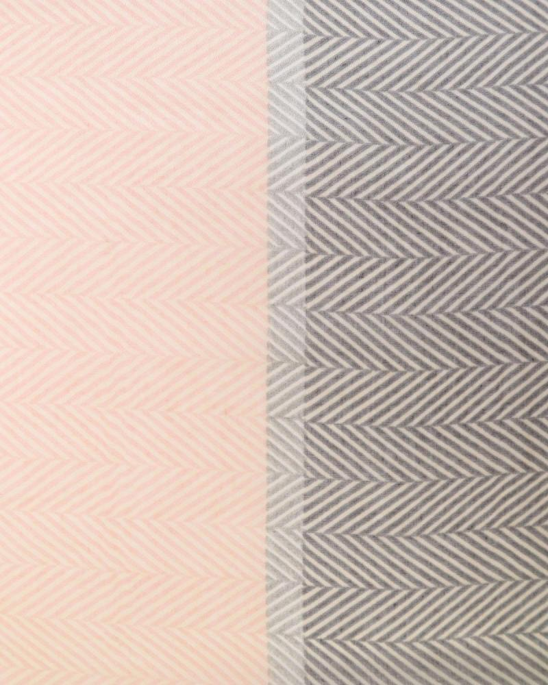 Grey/pink pashmina