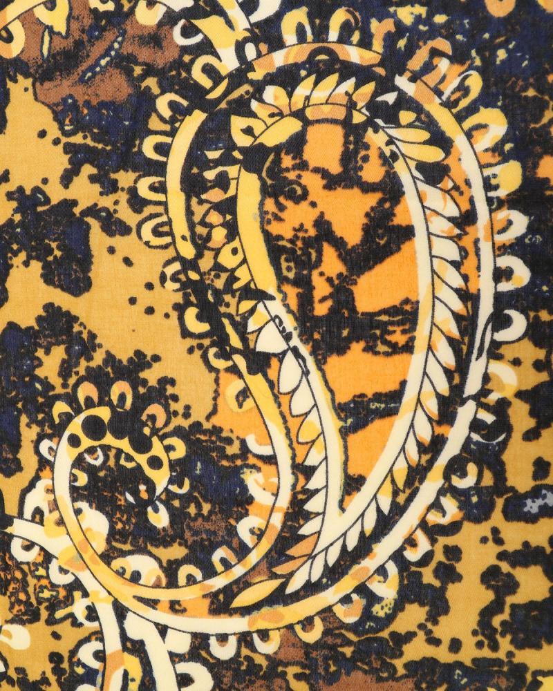 Πασμίνα κίτρινη